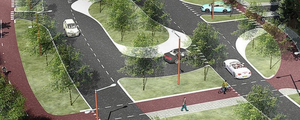 Parklaan kan worden aangelegd